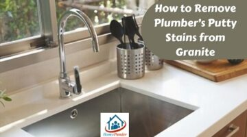 how to remove plumber's putty from porcelain sink