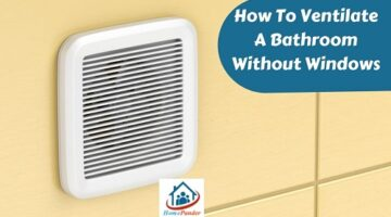 how to ventilate a bathroom without windows